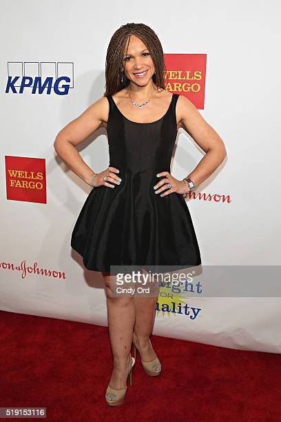 Writer Melissa HarrisPerry attends PFLAG National's Eighth Annual Straight for Equality Awards Gala at The New York Marriott Marquis on April 4 2016...