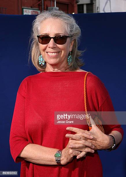 Writer Melissa Mathison arrives at the Los Angeles industry screening of 'Ponyo' at the El Capitan Theatre on July 27 2009 in Hollywood California
