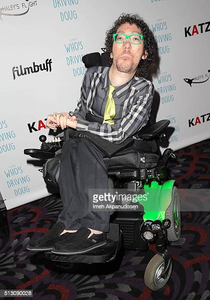 Writer Michael Carnick attends the premiere of FilmBuff's 'Who's Driving Doug' at Los Feliz 3 Cinemas on February 26 2016 in Los Angeles California