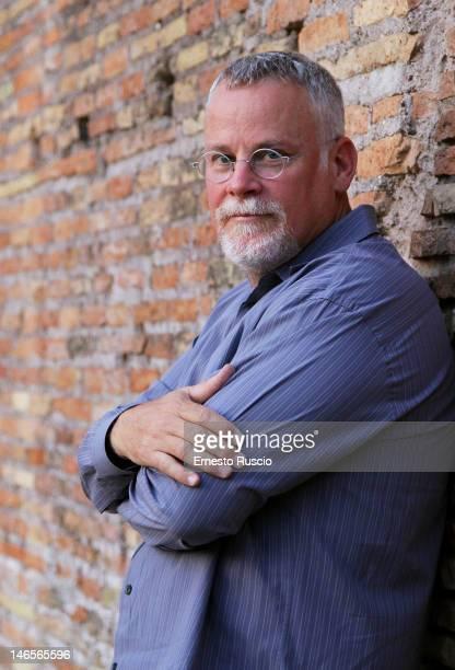 Writer Michael Connelly poses during the Letterature 2012 Festival Internazionale di Roma at Basilica di Massenzio on June 19 2012 in Rome Italy