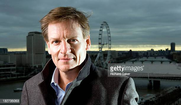 Writer Michael Lewis is photographed for the Observer on January 27 2011 in London England