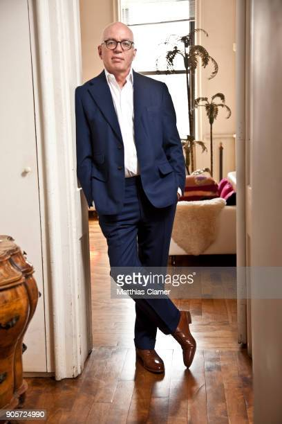 Writer Michael Wolff is photographed for GQ Britain on May 31 2013 in New York City
