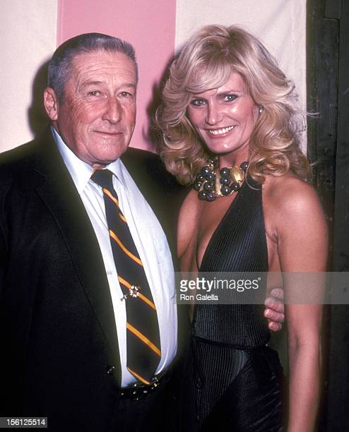 Writer Mickey Spillane and Actress Randi Brooks attend the Cast and Crew Party for the CBS Television Movie 'Murder Me Murder You' on February 11...