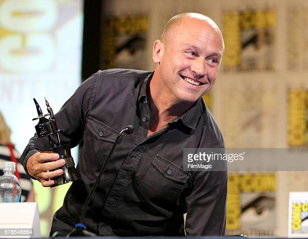 Writer Mike Judge attends HBO's Silicon Valley Panel during ComicCon International 2016 at Hilton Bayfront on July 21 2016 in San Diego California