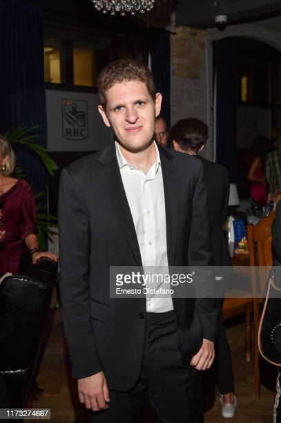 Writer Mike Makowsky attends the RBC Hosted Bad Education Cocktail Party At RBC House Toronto Film Festival 2019 at RBC House on September 08 2019 in...