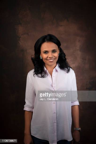 Writer Miranda Tapsell from 'Top End Wedding' is photographed for Los Angeles Times on January 28 2019 at the 2019 Sundance Film Festival in Salt...