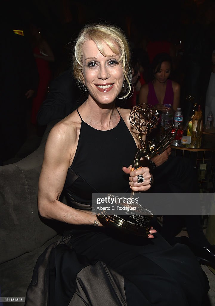 Writer Moira Walley-Beckett attends the FOX, 20th Century FOX Television, FX Networks and National Geographic Channel's 2014 Emmy Award Nominee Celebration at Vibiana on August 25, 2014 in Los Angeles, California.