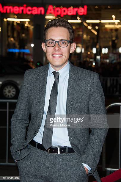 Writer Morgan Davis Foehl arrives at the Premiere Of Universal Pictures And Legendary Pictures' Blackhat at TCL Chinese Theatre IMAX on January 8...