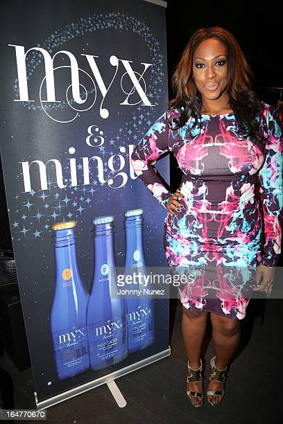 Writer multimedia personlaity and castmember Jas Fly attends the Vh1 The Gossip Game Press Reception at XL Nightclub on March 27 2013 in New York City