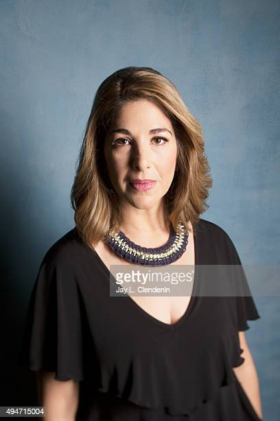 Writer Naomi Klein from the film 'This Changes Everything' is photographed for Los Angeles Times on September 25 2015 in Toronto Ontario PUBLISHED...