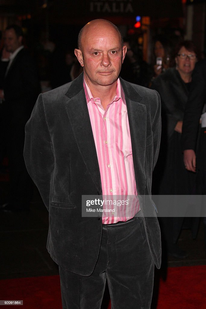 Writer Nick Hornby attends the Gala screening of 'An Education' during The Times BFI London Film Festival at Vue West End on October 20, 2009 in London, England.