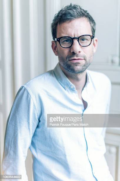 Writer Nicolas Mathieu is photographed for Paris Match in Paris on November 8 2018