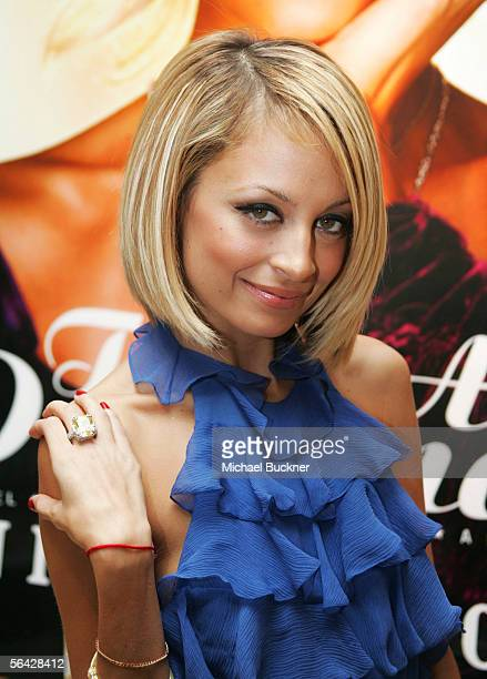 Writer Nicole Richie attends the celebration of her novel The Truth About Diamonds at Judith Ripka on December 13 2005 in Los Angeles California