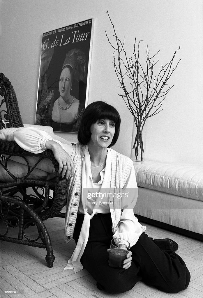 Writer Nora Ephron is photographed for People Magazine in 1978 in New York City.