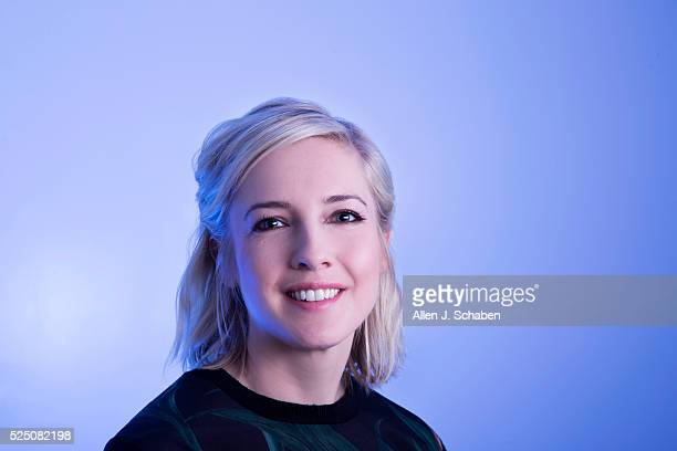 Writer of 'Ghostbusters' Katie Dippold is photographed for Los Angeles Times on April 14, 2016 in Los Angeles, California. PUBLISHED IMAGE. CREDIT...