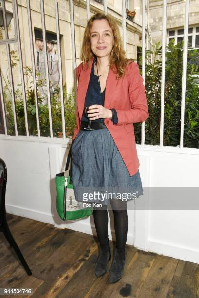 Writer Oriane Jeancourt Galignani attends the 'Bel RP' 10th Anniversary at Atelier Sevigne on April 10 2018 in Paris France