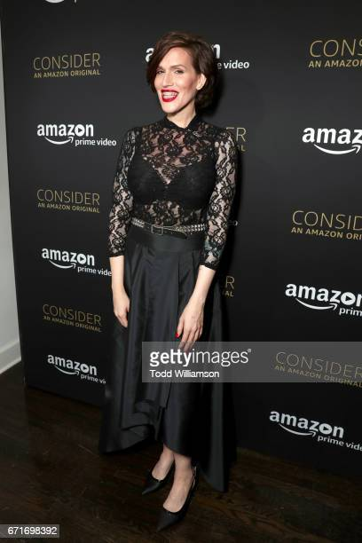 Writer Our Lady J attends the Amazon Studios Emmy For Your Consideration Event at Hollywood Athletic Club on April 22 2017 in Hollywood California