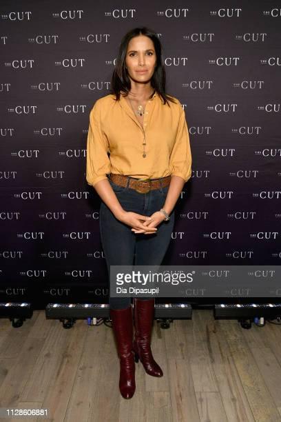 Writer Padma Lakshmi attends The Cut's How I Get It Done at 1 Hotel Brooklyn Bridge on March 4 2019 in Brooklyn New York