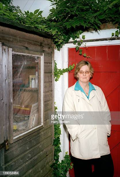Writer Pat Barker is photographed for Das magazin on October 1 2003 in London England