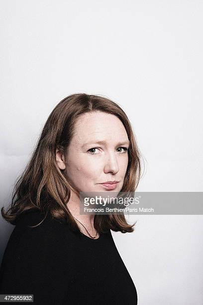 Writer Paula Hawkins is photographed for Paris Match on April 27 2015 in Paris France