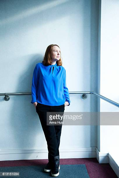 Writer Paula Hawkins is photographed for the New York Times on January 27 2015 in London England