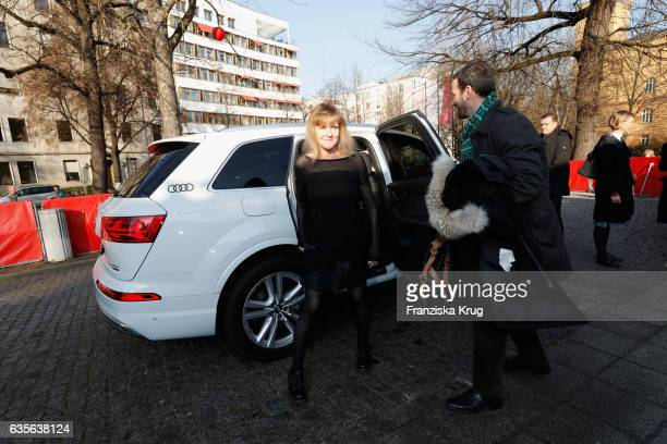 Writer Paula Milne attends the 'Der Gleiche Himmel' premier during the 67th Berlinale International Film Festival Berlin at Haus der Berliner...