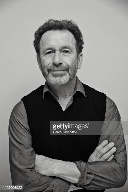 Writer Per Petterson poses for a portrait during the 69th Berlinale International Film Festival on February 10 2019 in Berlin Germany