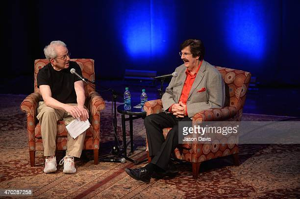Writer Peter Guralnick interviews Producer Rick Hall at 'The Man From Muscle Shoals Rick Hall in Conversation with Peter Guralnick' at Country Music...