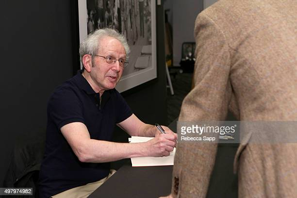 Writer Peter Guralnick signs his book for audience member at Sam Phillips The Man Who Invented Rock n Roll A Conversation with Peter Guralnick Conan...