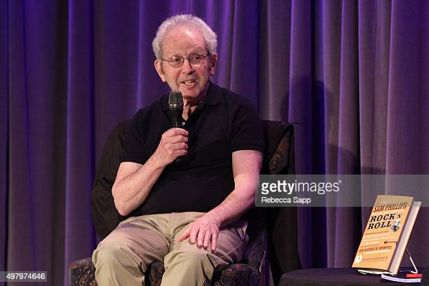 Writer Peter Guralnick speaks onstage at Sam Phillips The Man Who Invented Rock n Roll A Conversation with Peter Guralnick Conan O'Brien at The...