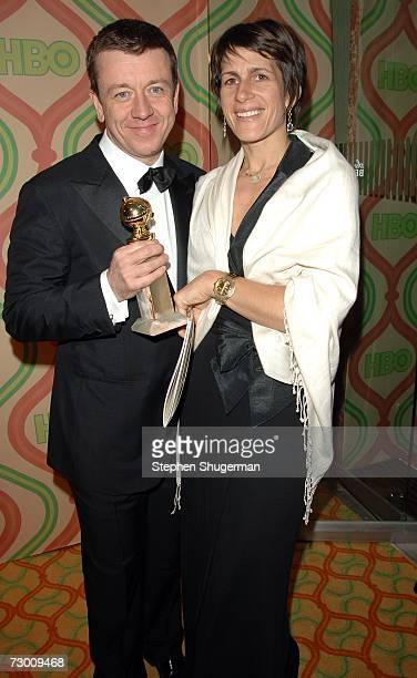 Writer Peter Morgan arrives at HBO's Post Golden Globe After Party held at the Beverly Hilton on January 15 2007 in Beverly Hills California