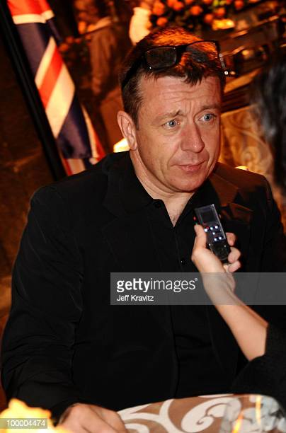 Writer Peter Morgan attends the HBO premiere of 'The Special Relationship' after party held at Directors Guild Of America on May 19 2010 in Los...