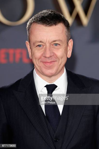 Writer Peter Morgan attends the World Premiere of season 2 of Netflix 'The Crown' at Odeon Leicester Square on November 21 2017 in London England