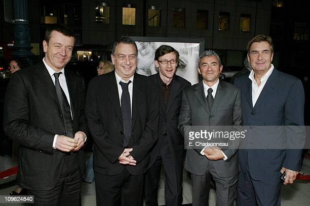 Writer Peter Morgan Director Stephen Frears Exec Producer Francois Ivernel Miramax's Daniel Battsek and Producer Andy Harries