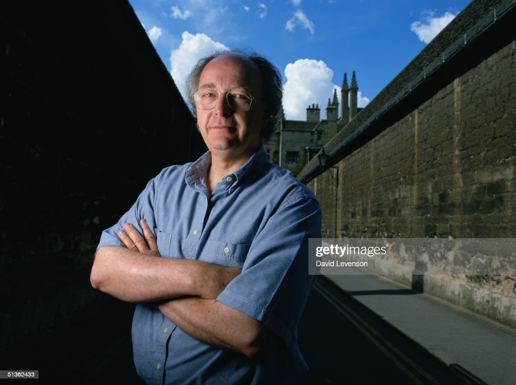 Writer Philip Pullman in Oxford on August 22, 2000. Pullman's novels are 'Lyra's Oxford', 'The Golden Compass', 'The Subtle Knife' and 'The Amber Spyglass'.