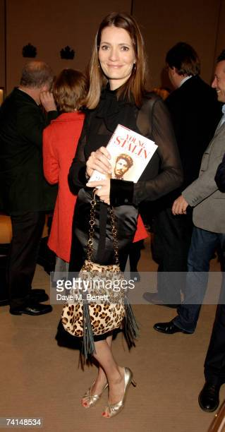 Writer Plum Sykes attends the book launch party of The Young Stalin The Adventurous Early Life Of The Dictator 18781917 by Simon Sebag Montefiore at...