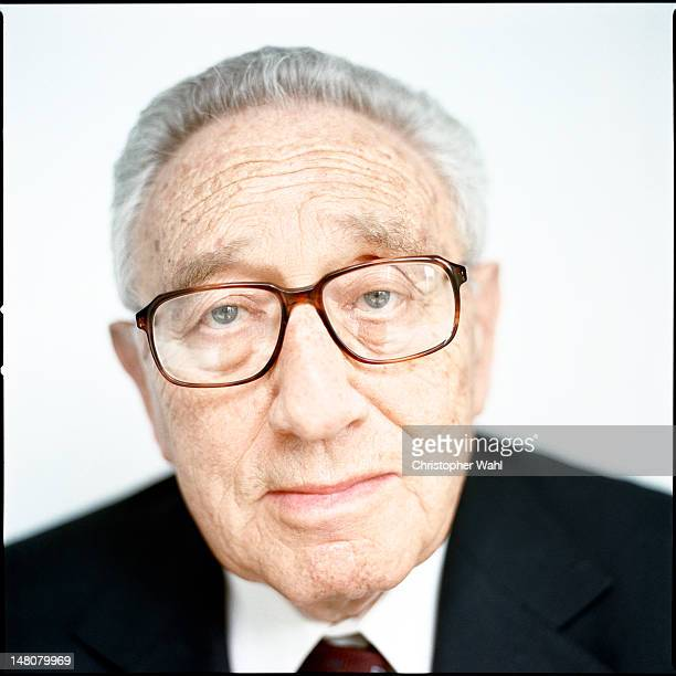 Writer, political scientist, diplomat, and businessman Henry Kissinger is photographed for AARP Magazine on May 1, 2006 in Toronto, Ontario.
