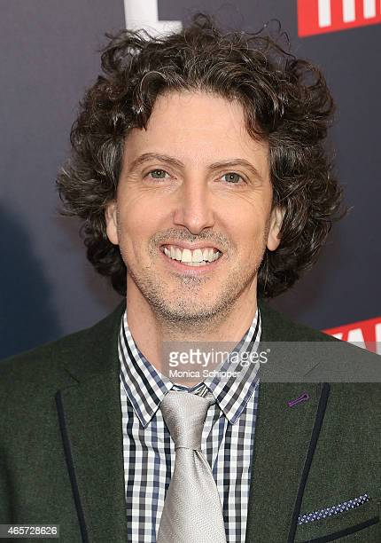 Writer producer and director Mark Schwahn attends 'The Royals' New York Series Premiere at The Standard Highline on March 9 2015 in New York City