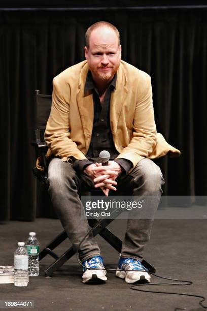 Writer/ producer/ director Joss Whedon takes part in a conversation about his career during An Evening With Joss Whedon at The Film Society of...