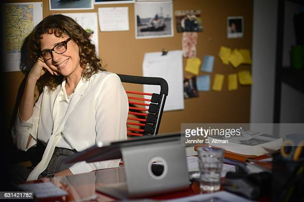 Writer Rebecca Miller is photographed for Los Angeles Times on October 26 2016 in New York City PUBLISHED IMAGE