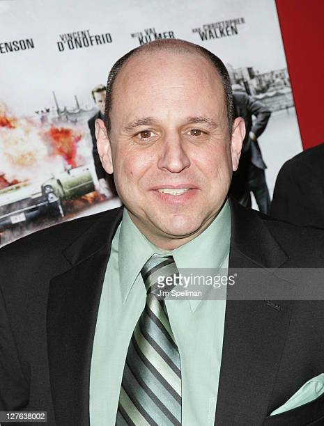 Writer Rick Porrello attends the premiere of 'Kill the Irishman' at Landmark's Sunshine Cinema on March 7 2011 in New York City