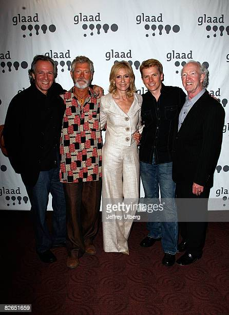 Writer Robert Desiderio Actor Stephen Lang Actress Judith Light Actor Robert Cary and Producer Herb Hamsher at the premiere of Save Me at the...