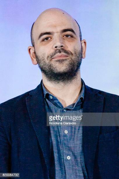 Writer Roberto Saviano attends Campus Party on July 20, 2017 in Milan, Italy.
