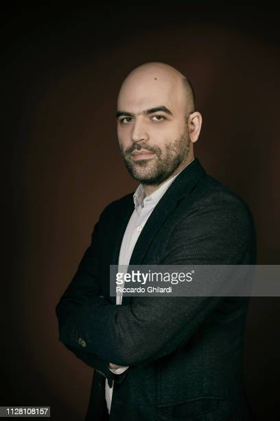 Writer Roberto Saviano poses for a portrait during the 69th Berlinale International Film Festival on February 13 2019 in Berlin Germany