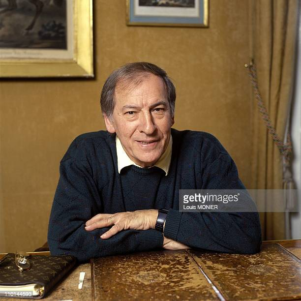 Writer Roger Borniche in France on January 19 1991