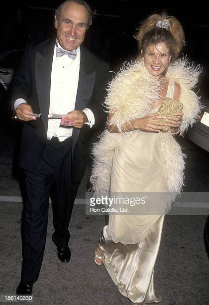 Writer Ron Shelton and Actress Lolita Davidovich attend the 'Fedora' Opening Night Performance on September 4 1997 at Dorothy Chandler Pavilion in...