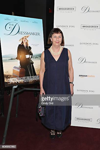 Writer Rosalie Ham attends as London Fog presents a New York special screening of 'The Dressmaker' on September 16 2016 in New York City