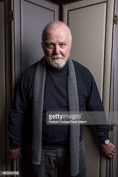 Writer Russell Banks is photographed for Paris Match on January 13 2015 in Paris France