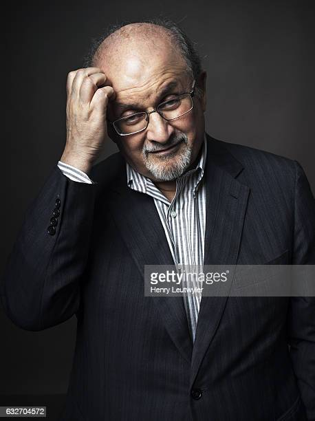 Writer Salman Rushdie is photographed for Telerama on August 8 2016 in New York City PUBLISHED IMAGE