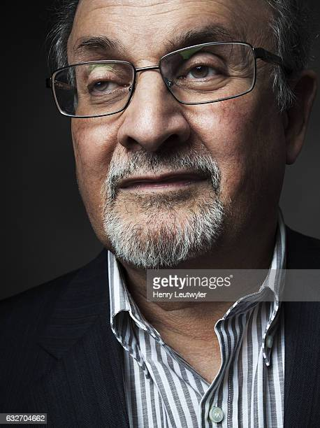 Writer Salman Rushdie is photographed for Telerama on August 8 2016 in New York City